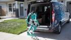 Ford diseña sistema autónomo para llevar paquetes