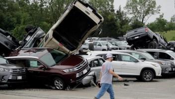 Destrucción y muerte por tornados en Estados Unidos