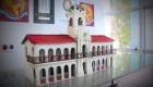 Crean réplica de histórico edificio argentino en chocolate