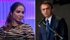 Anitta habla de Jair Bolsonaro, presidente de Brasil