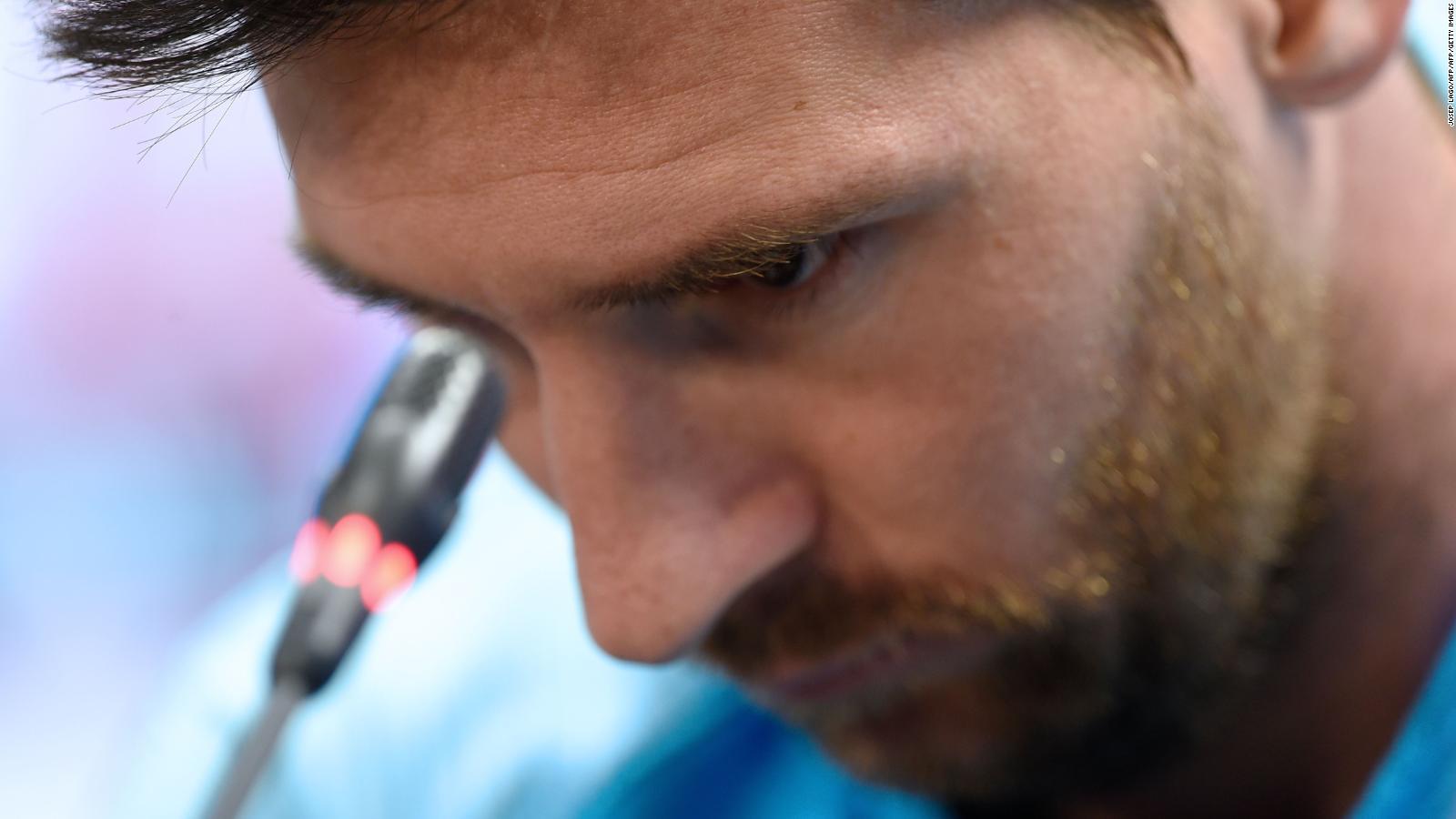 """Lionel Messi: """"Valverde no tuvo la culpa... somos los únicos culpables"""""""