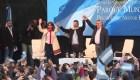 Argentina: La fórmula Fernández-Fernández, en campaña