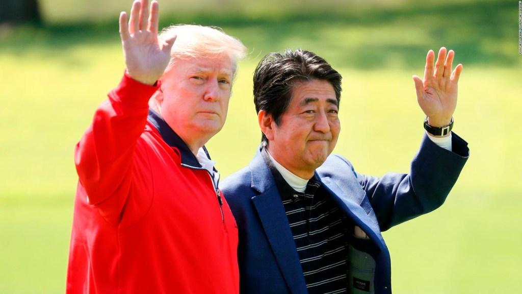 Trump y Abe negocian un acuerdo comercial bilateral