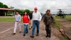 Vizcarra visita las zonas afectadas por el terremoto