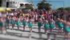 Desfile de mellizos en Crimea