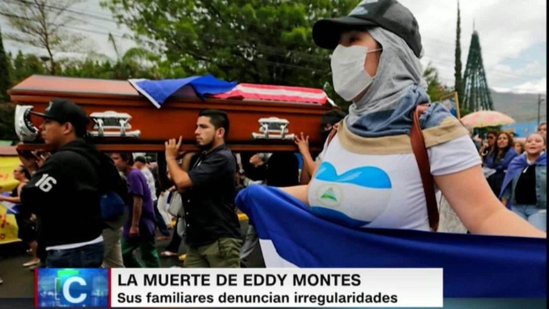 Nicaragua: ¿Por qué no revelan la autopsia de Eddy Montes?