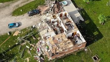 Tres tornados devastaron zonas de Ohio