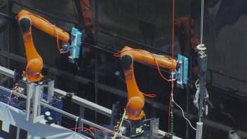 Robots pueden realizar trabajos peligrosos en los rascacielos