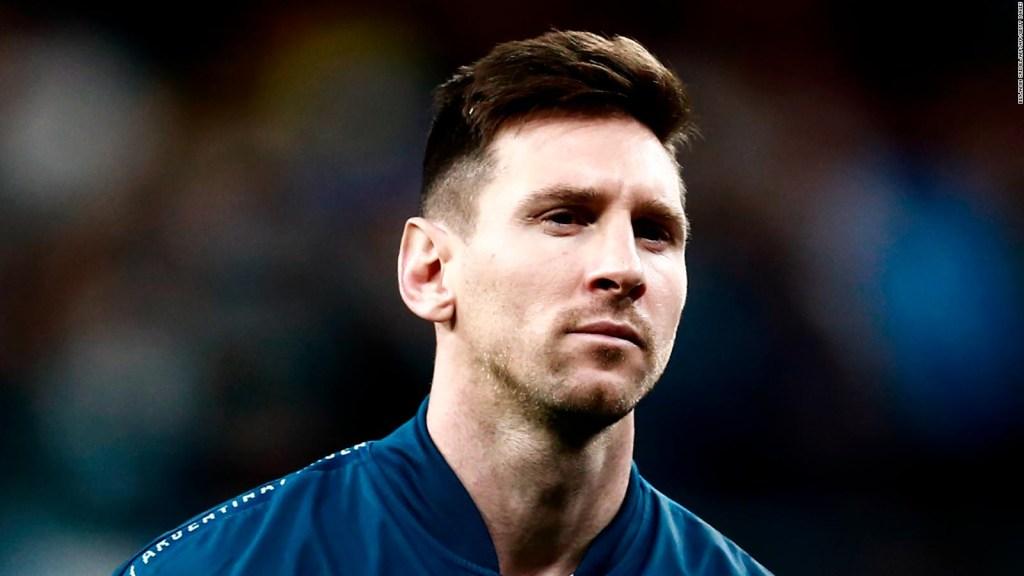 Messi llegó a Argentina y se prepara para la Copa América