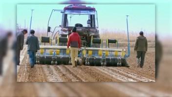 Tractor autónomo es una realidad en China