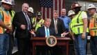 Proteccionismo de Trump pierde apoyo entre estadounidenses
