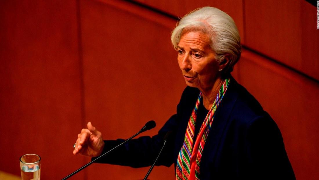 Christine Lagarde conversó con CNN sobre la política argentina