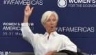 Lagarde participa en el Women´s Forum México