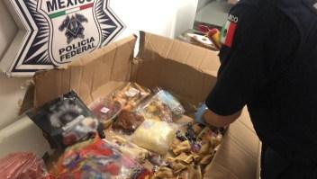 Decomisan en México una caja de dulces con aparente opioide
