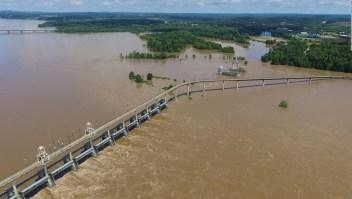 Estragos por las inundaciones en el centro de EE.UU.