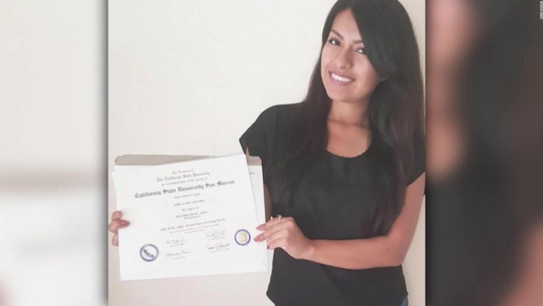 Una chica humilde comparte su gran logro estudiantil