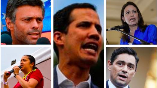 Representantes oposición venezolana