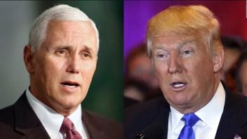 Trump dice que pensará si respalda a Pence para la presidencia en 2024
