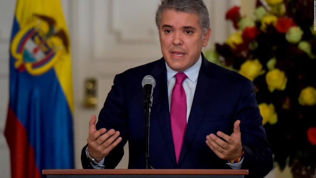Duque pide protección migratoria temporal para los venezolanos