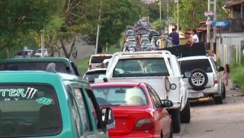 Venezuela: días de espera para comprar combustible