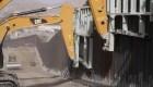Terminan construcción de segmento de muro fronterizo privado