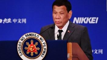"Rodrigo Duterte dice haberse ""curado"" de ser gay"