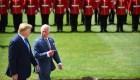 Trump llega al Palacio de Buckingham