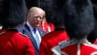 Entre protestas, Trump inicia gira en Reino Unido