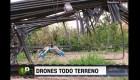 Un dron con superpoderes