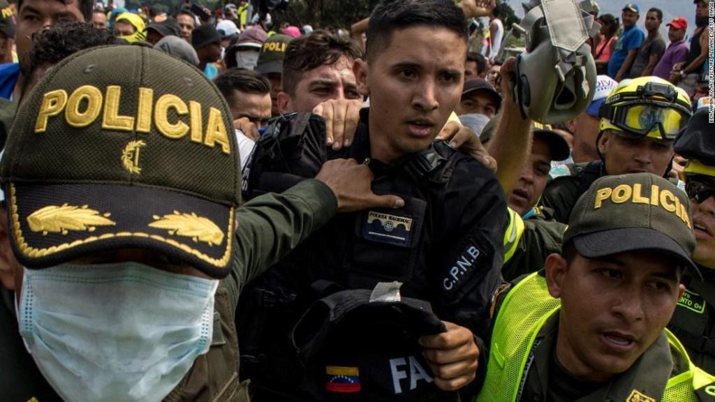 Militares desertores Guardia venezolana