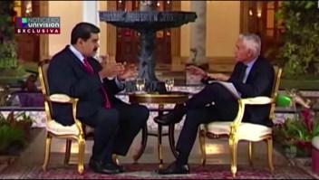 Lo que mas molestó a Maduro de la entrevista de Ramos