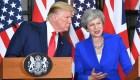 May: Incluso si Trump y yo no estamos de acuerdo, estamos juntos
