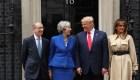 Protestas por la presencia de Trump en Gran Bretaña