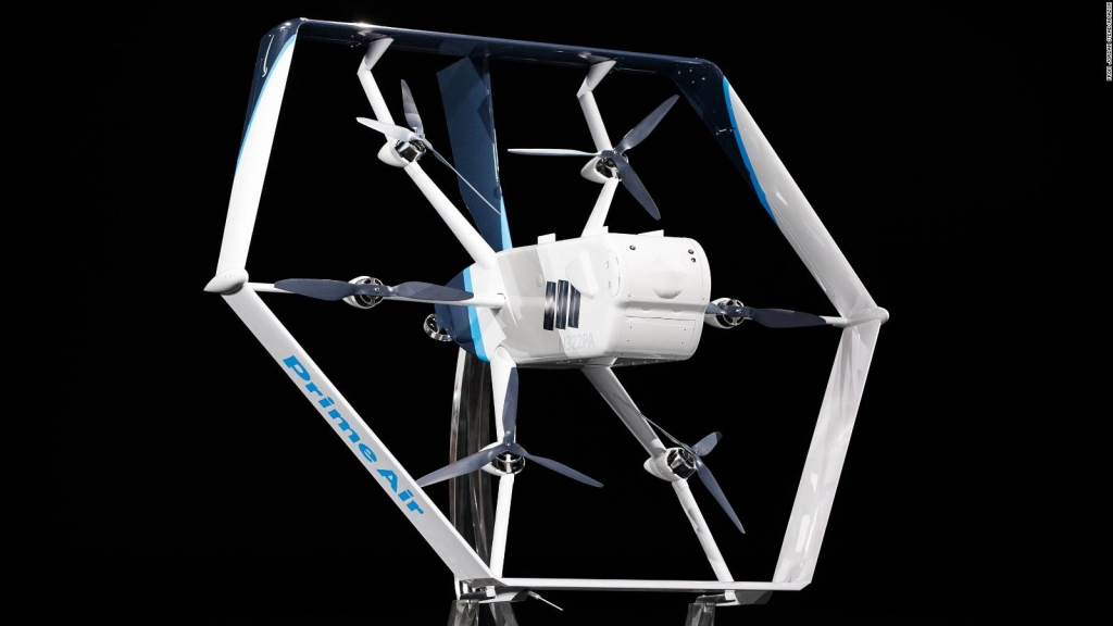 Amazon, cerca de hacer entregas con drones