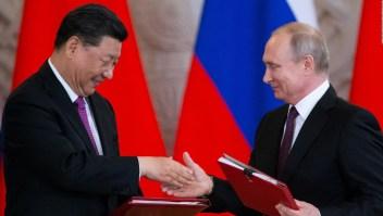 Cónclave de presidentes de China y Rusia