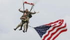 Veterano de la Segunda Guerra Mundial volvió a saltar sobre Normandía