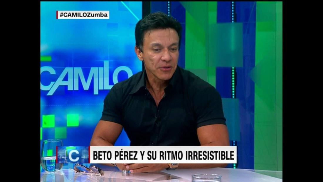 Beto Pérez describe el inicio de su carrera