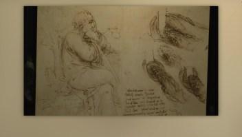 El arte de Leonardo Da Vinci se exhibe en Londres