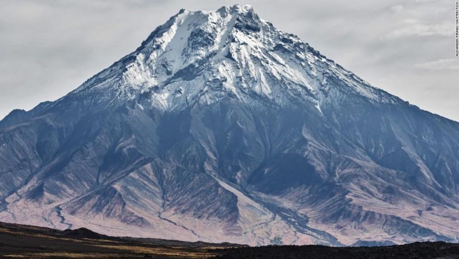 Volcán Udina Rusia