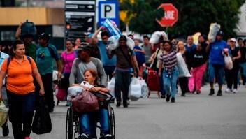 Informe: 4 millones de venezolanos han salido de su país