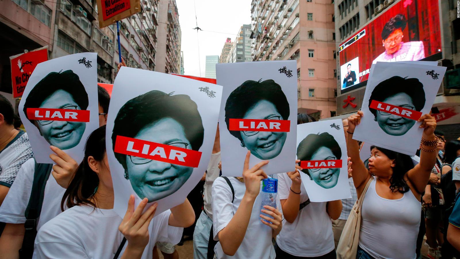 ¿Qué está pasando con Carrie Lam en Hong Kong?