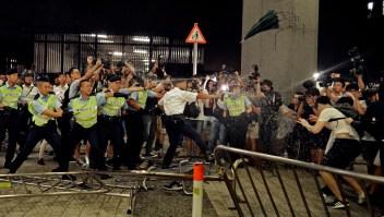 Protestas en Hong Kong contra proyecto de ley de extradición