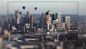 Globos aerostáticos se apoderan del cielo londinense