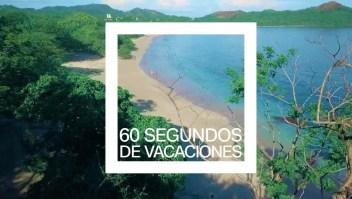 60 segundos de vacaciones en Playa Conchal y su belleza natural