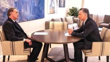 Macri elige al peronista Pichetto como candidato a vicepresidente