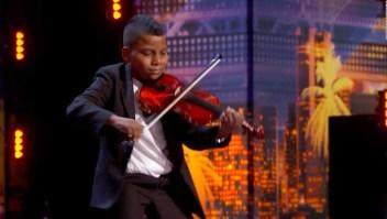 El violinista que conmovió a Simon Cowell