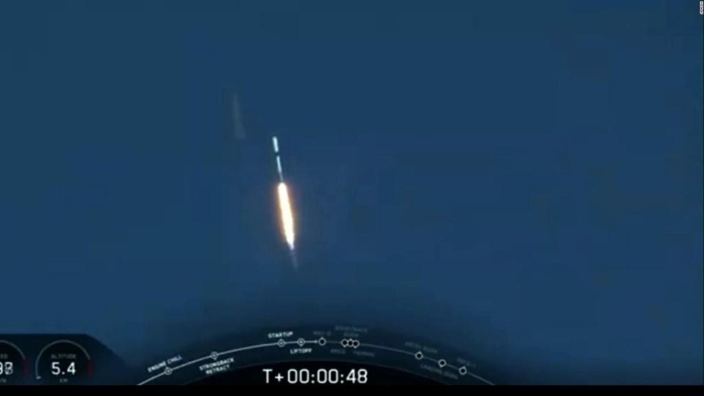 SpaceX lleva al espacio satélites canadienses