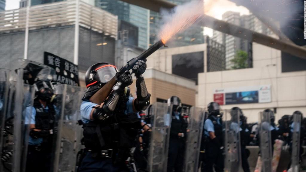 Las imágenes más impactantes de las protestas en Hong Kong