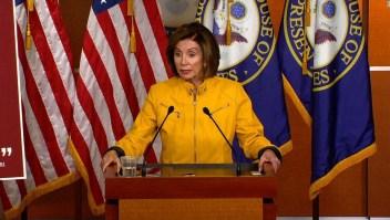 Nancy Pelosi Trump el bien del mal