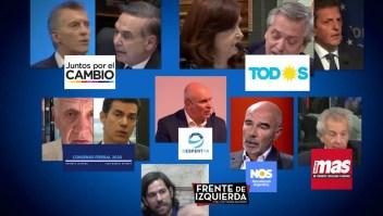 Así se ve el panorama político electoral en Argentina